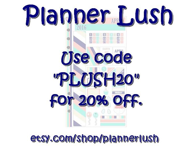 Planner Lush